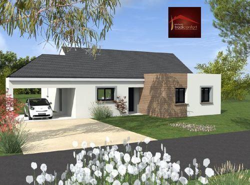 Maisons du constructeur TRADICONFORT 89 • 100 m² • VILLY LE BOIS