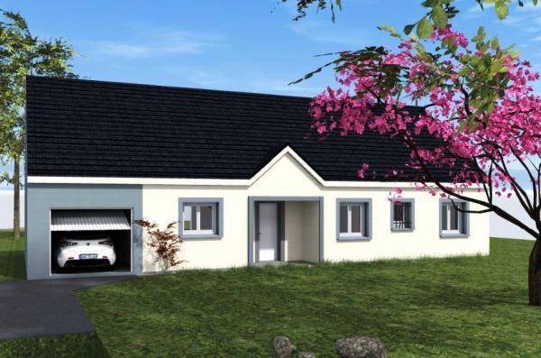 Maisons du constructeur TRADICONFORT 89 • 102 m² • LINDRY