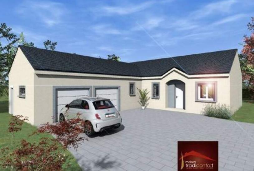 Maisons du constructeur TRADICONFORT 89 • 122 m² • SAINT AUBIN CHATEAU NEUF