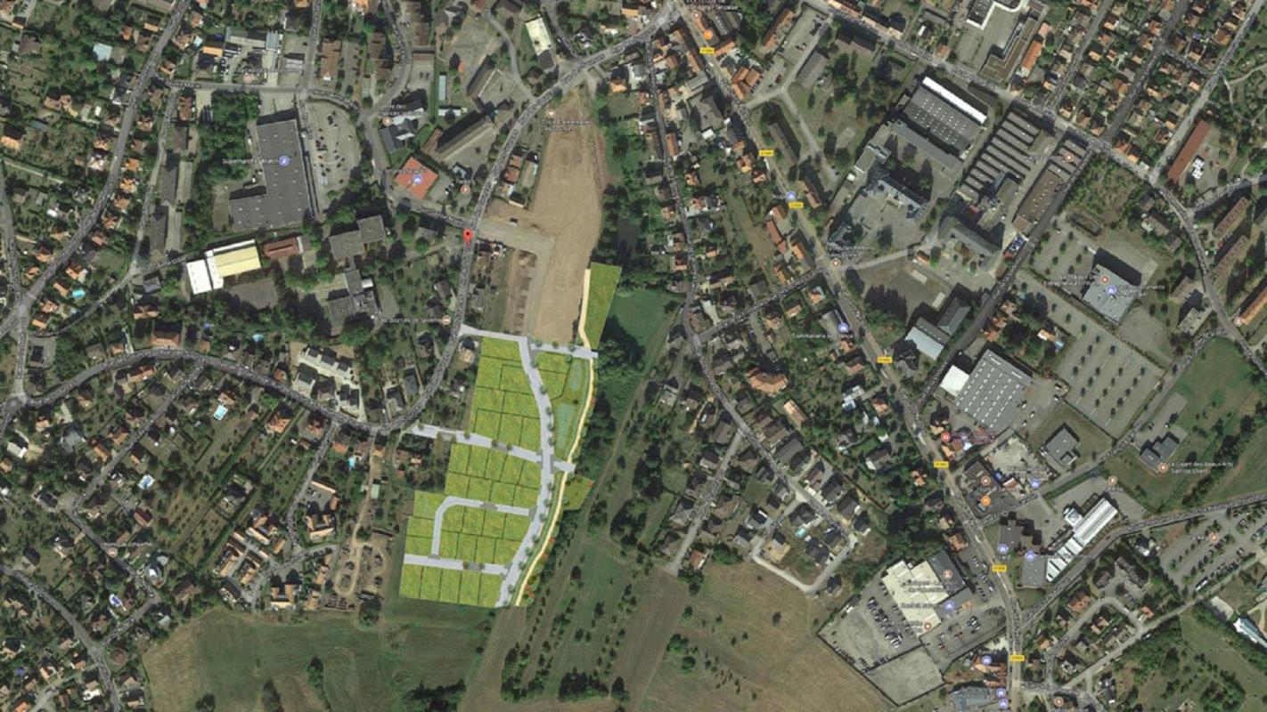 Terrains du constructeur Crédit Mutuel Aménagement foncier • 423 m² • SAVERNE