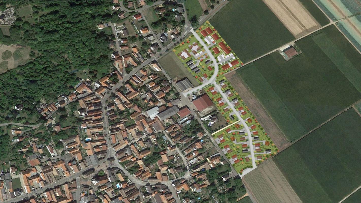Terrains du constructeur Crédit Mutuel Aménagement foncier • 492 m² • BLAESHEIM