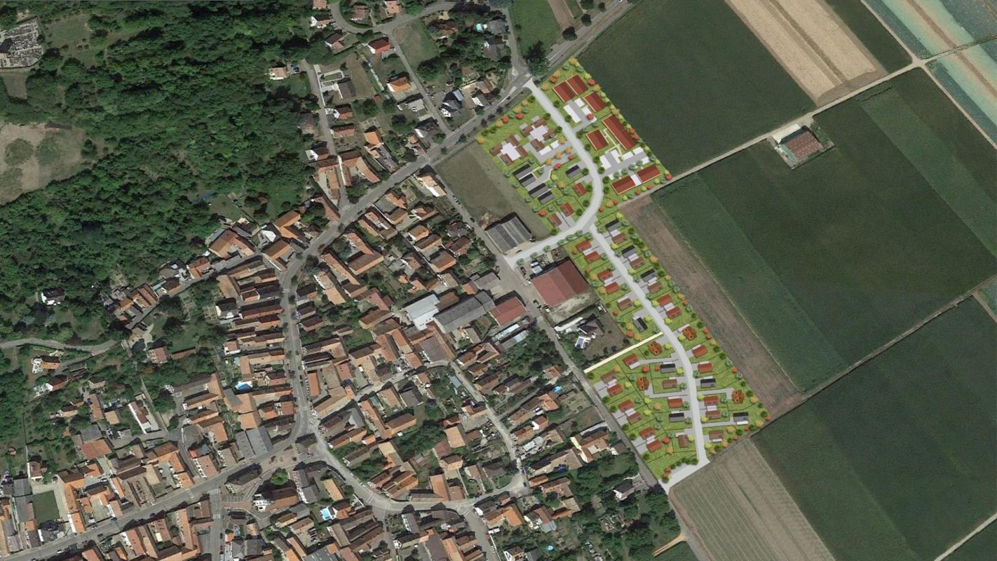 Terrains du constructeur Crédit Mutuel Aménagement foncier • 406 m² • BLAESHEIM