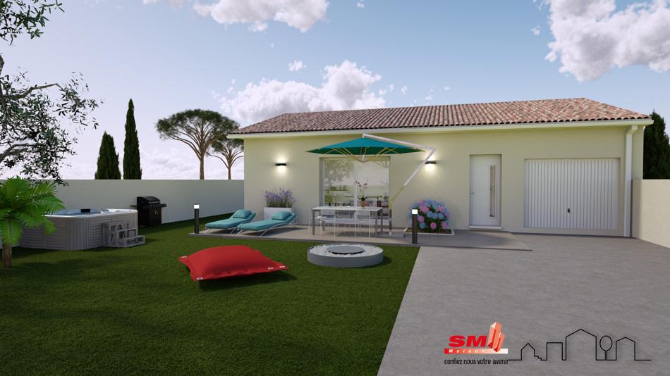 Maisons + Terrains du constructeur SM MAISON • 80 m² • BASSAN