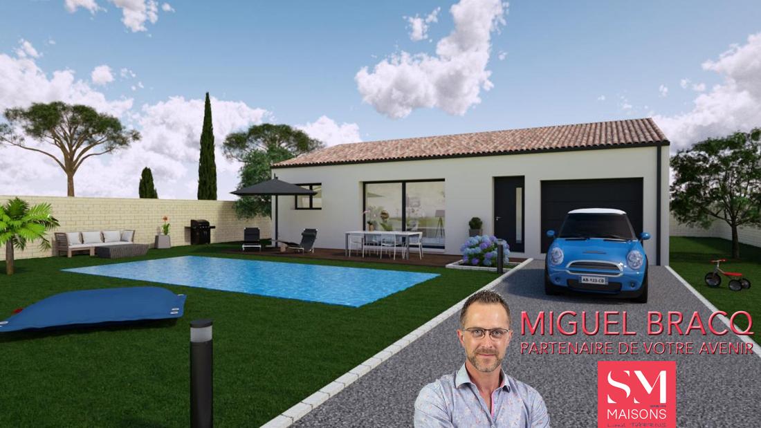 Maisons + Terrains du constructeur SM MAISON • 85 m² • CEBAZAN