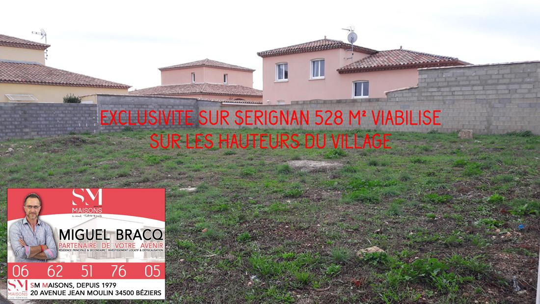 Terrains du constructeur SM MAISON • 528 m² • SERIGNAN