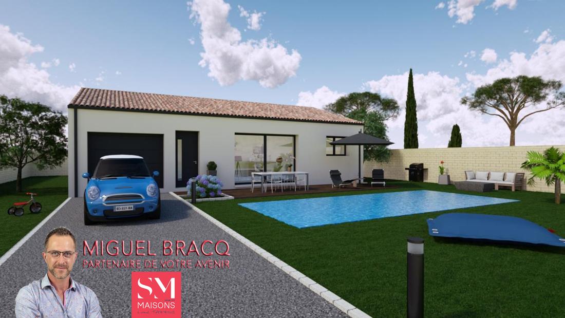 Maisons + Terrains du constructeur SM MAISON • 80 m² • COLOMBIERS