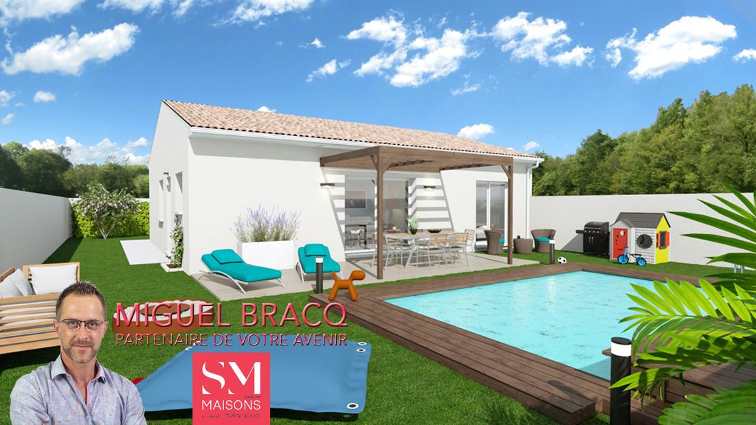 Maisons + Terrains du constructeur SM MAISON • 83 m² • BEZIERS