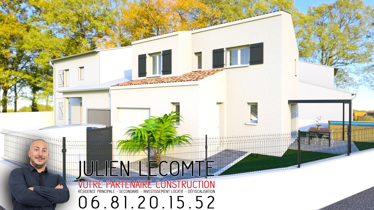 Maisons + Terrains du constructeur SM MAISON • 80 m² • CAUX