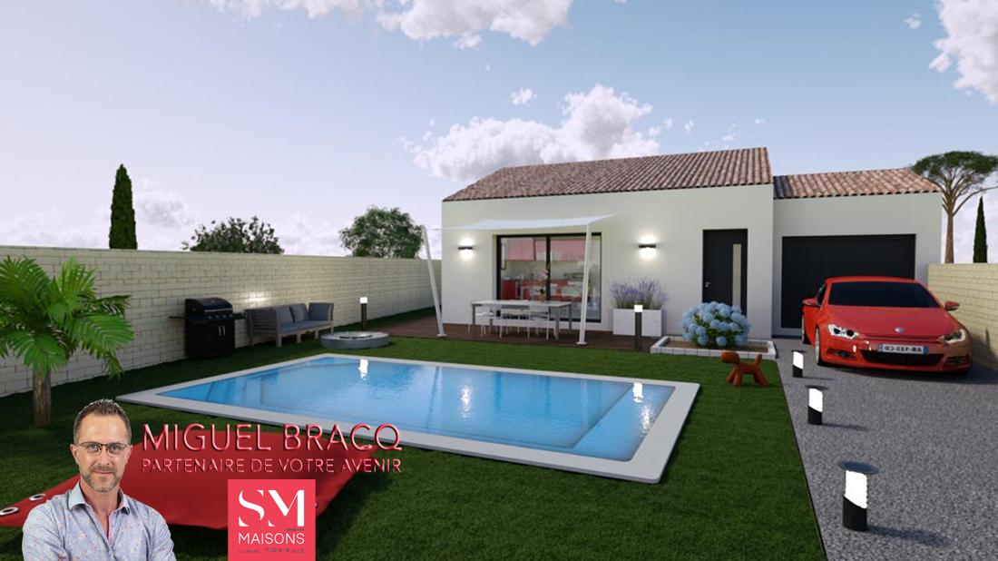 Maisons + Terrains du constructeur SM MAISON • 84 m² • MAUREILHAN