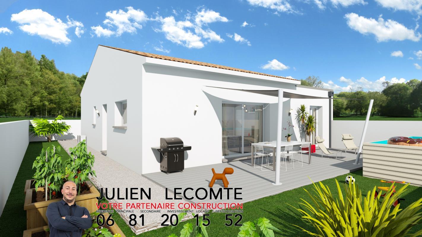 Maisons + Terrains du constructeur SM MAISON • 90 m² • POMEROLS