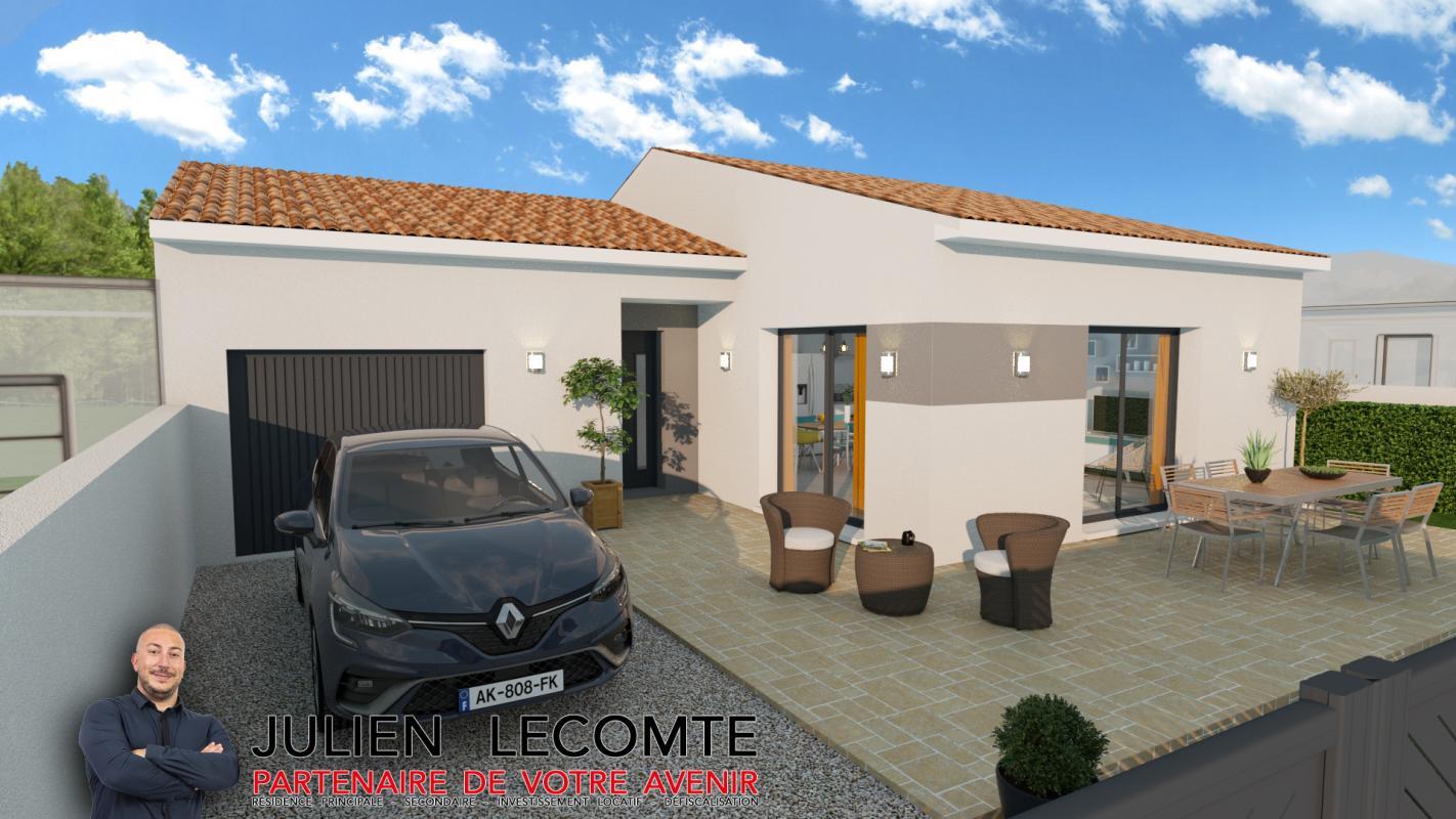 Maisons + Terrains du constructeur SM MAISON • 90 m² • LIEURAN LES BEZIERS