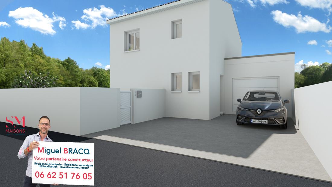 Maisons + Terrains du constructeur SM MAISON • 90 m² • LESPIGNAN
