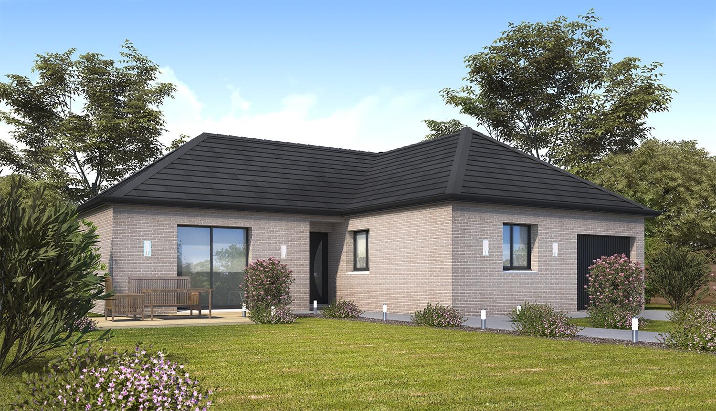 Maisons + Terrains du constructeur HABITAT CONCEPT VALENCIENNES • 92 m² • MARLY
