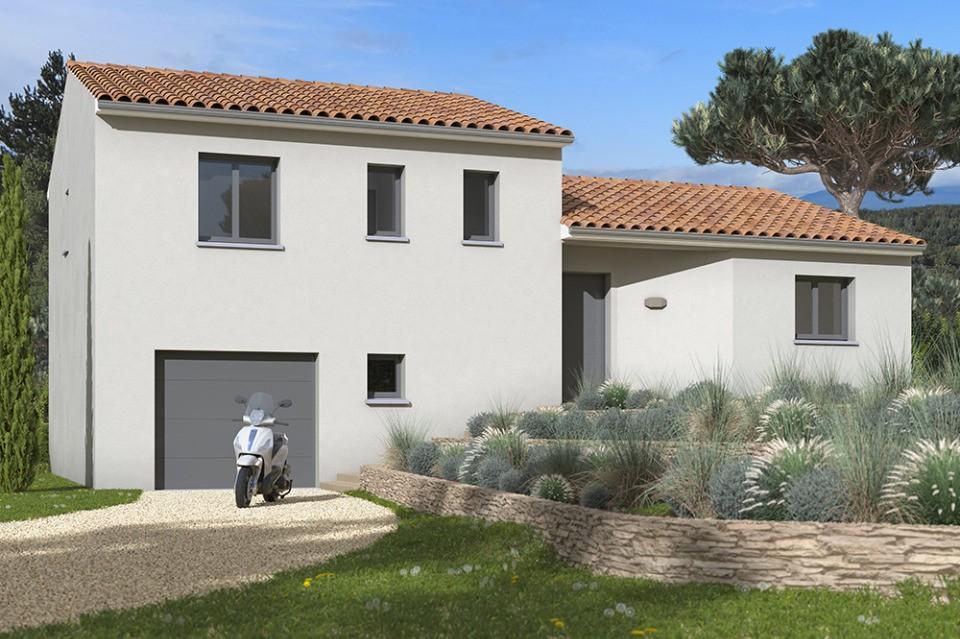 Maisons + Terrains du constructeur MAISONS FRANCE CONFORT • 90 m² • LANTA