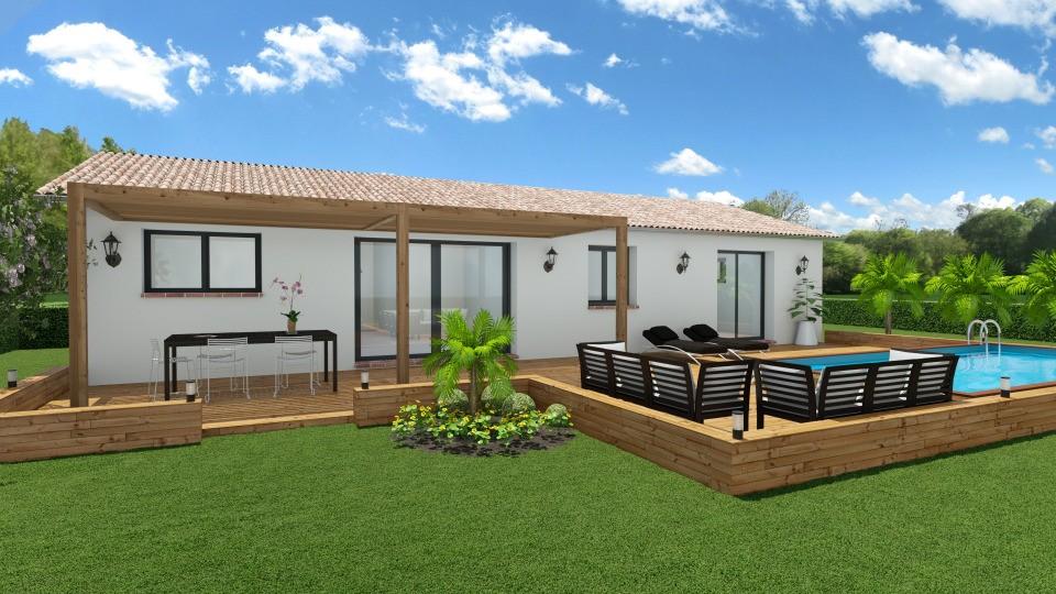 Maisons + Terrains du constructeur MAISONS FRANCE CONFORT • 75 m² • AVIGNONET LAURAGAIS