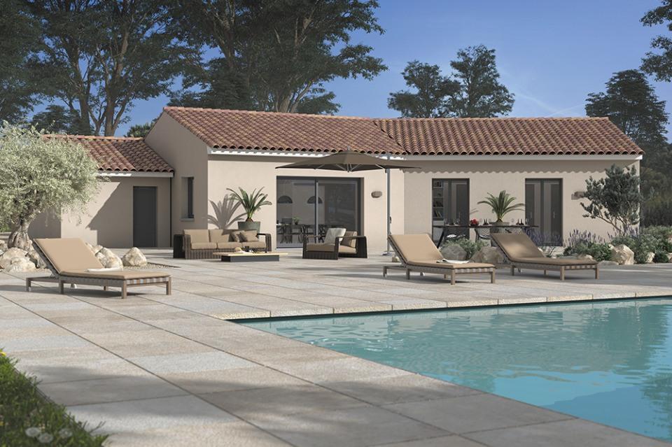 Maisons + Terrains du constructeur MAISONS FRANCE CONFORT • 100 m² • SAINT JULIA