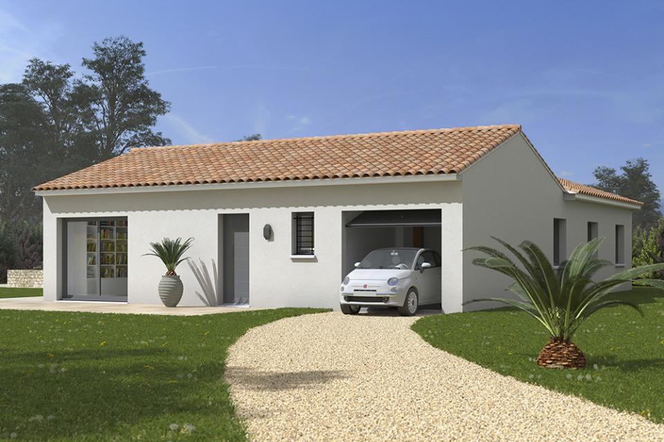 Maisons + Terrains du constructeur MAISONS FRANCE CONFORT • 110 m² • MOURVILLES HAUTES