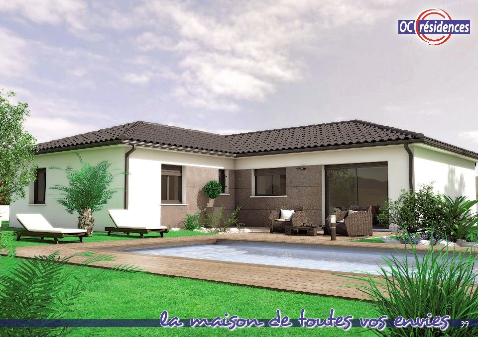 Maisons + Terrains du constructeur OC RESIDENCES - CARCASSONNE • 109 m² • PALAJA