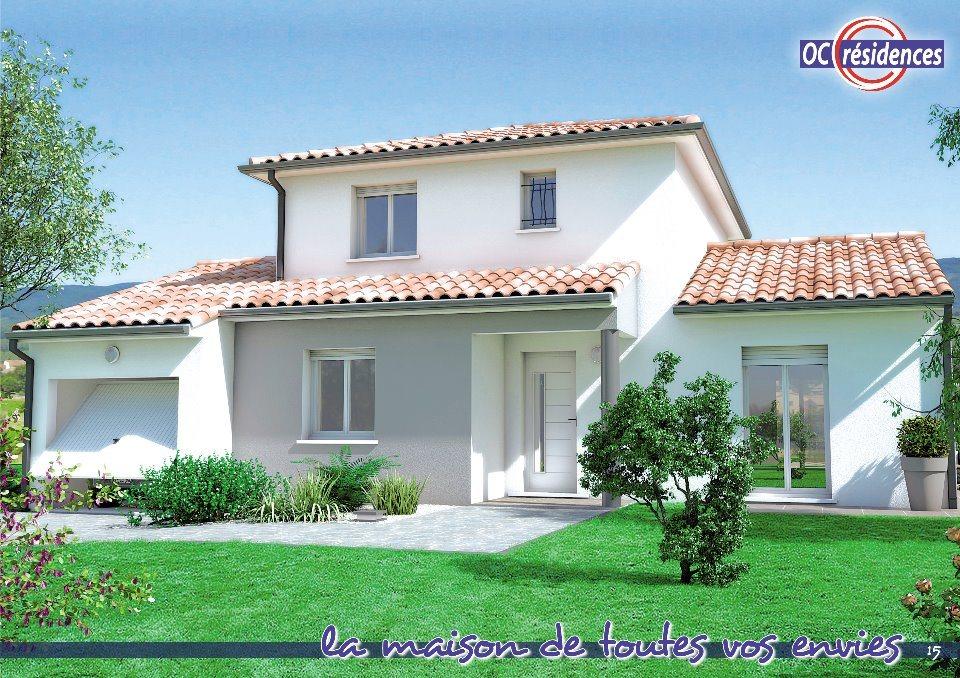 Maisons + Terrains du constructeur OC RESIDENCES - CARCASSONNE • 110 m² • LAVALETTE