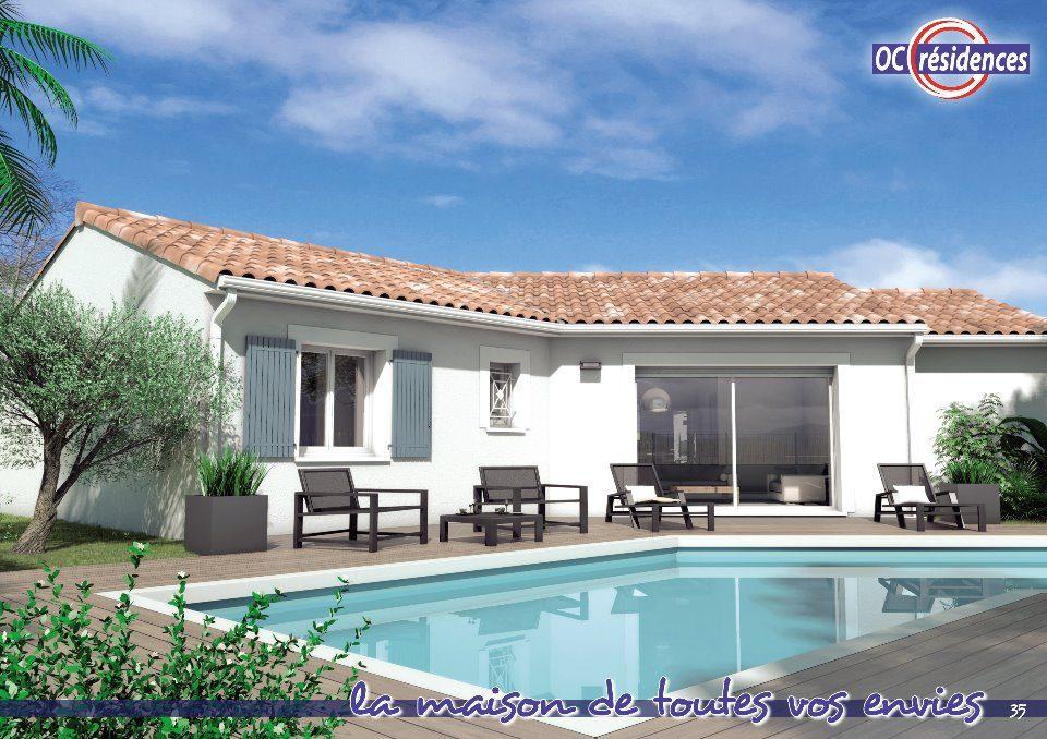 Maisons + Terrains du constructeur OC RESIDENCES - CARCASSONNE • 88 m² • LAVALETTE