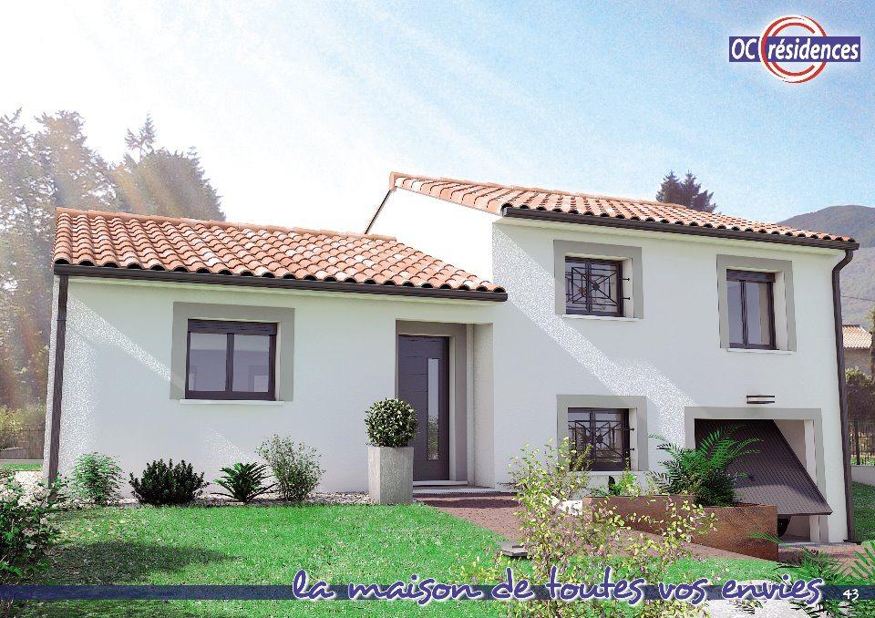 Maisons + Terrains du constructeur OC RESIDENCES - CARCASSONNE • 88 m² • PALAJA