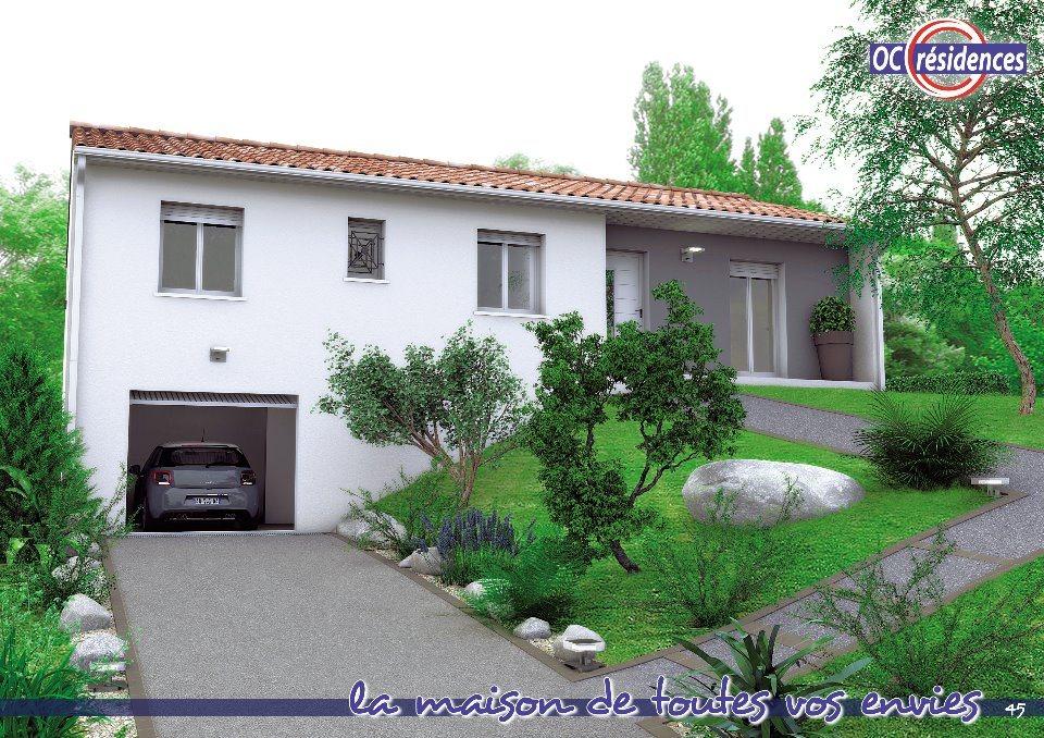Maisons + Terrains du constructeur OC RESIDENCES - CASTELNAUDARY • 84 m² • CASTELNAUDARY