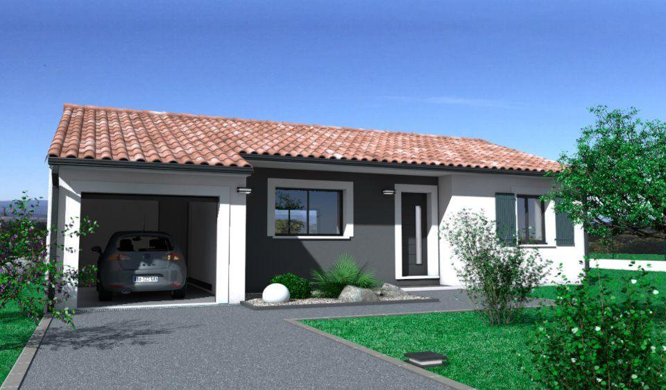 Maisons + Terrains du constructeur OC RESIDENCES - CASTELNAUDARY • 90 m² • LABASTIDE D'ANJOU