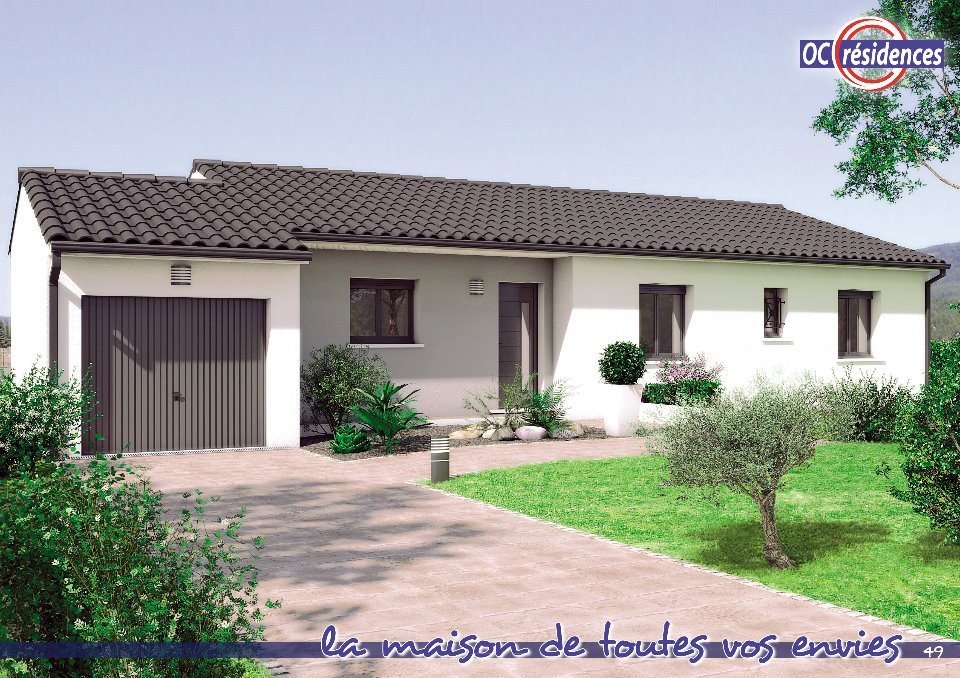 Maisons + Terrains du constructeur OC RESIDENCES - CASTELNAUDARY • 100 m² • CASTELNAUDARY