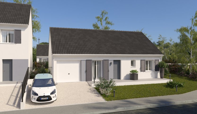 Maisons du constructeur MAISONS PIERRE ABBEVILLE • 78 m² • SAINT LEGER LES DOMART