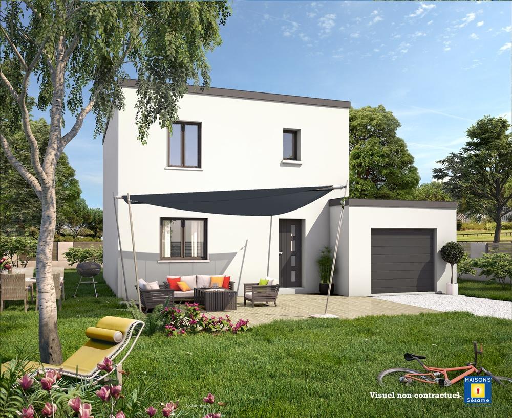 Maisons + Terrains du constructeur MAISONS SESAME • 120 m² • THOIRY
