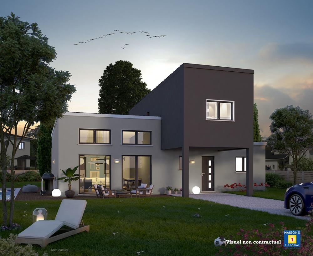 Maisons + Terrains du constructeur MAISONS SESAME • 110 m² • MONTFORT L'AMAURY