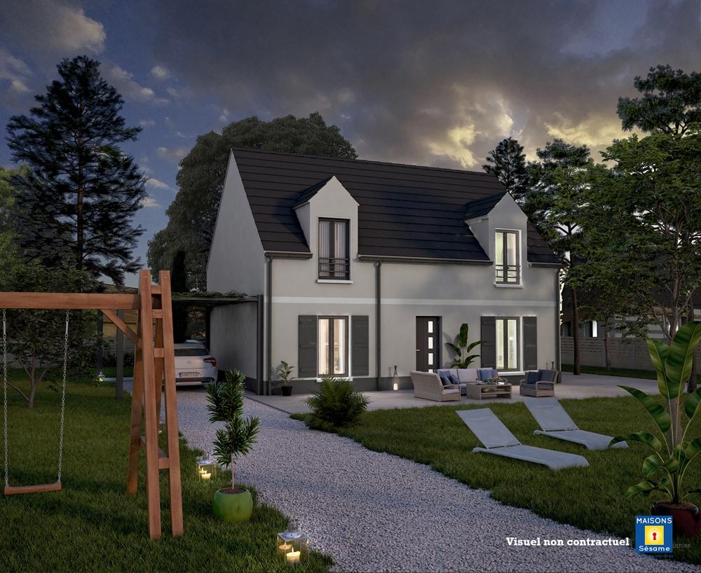 Maisons + Terrains du constructeur MAISONS SESAME • 105 m² • GAZERAN