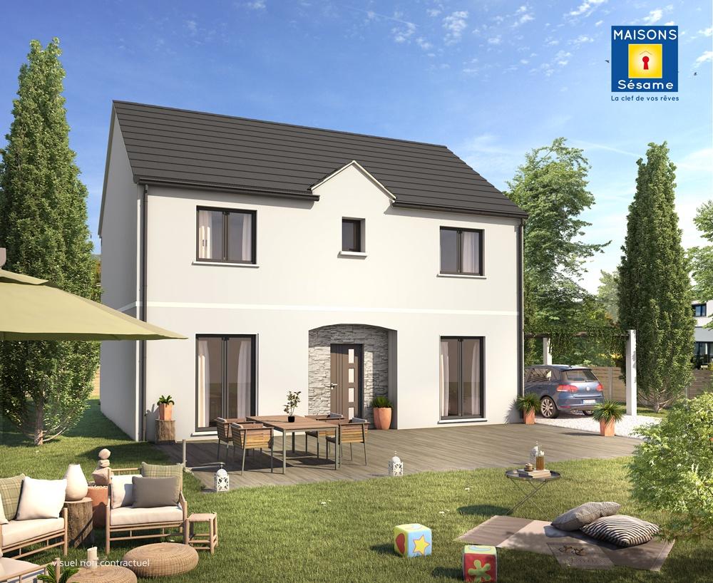 Maisons + Terrains du constructeur MAISONS SESAME • 105 m² • MAGNY LES HAMEAUX