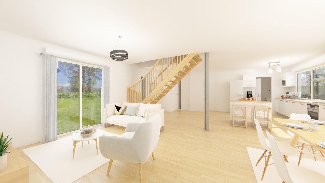 Maisons + Terrains du constructeur Maisons Phénix Montgermont • 132 m² • SAINT GUINOUX