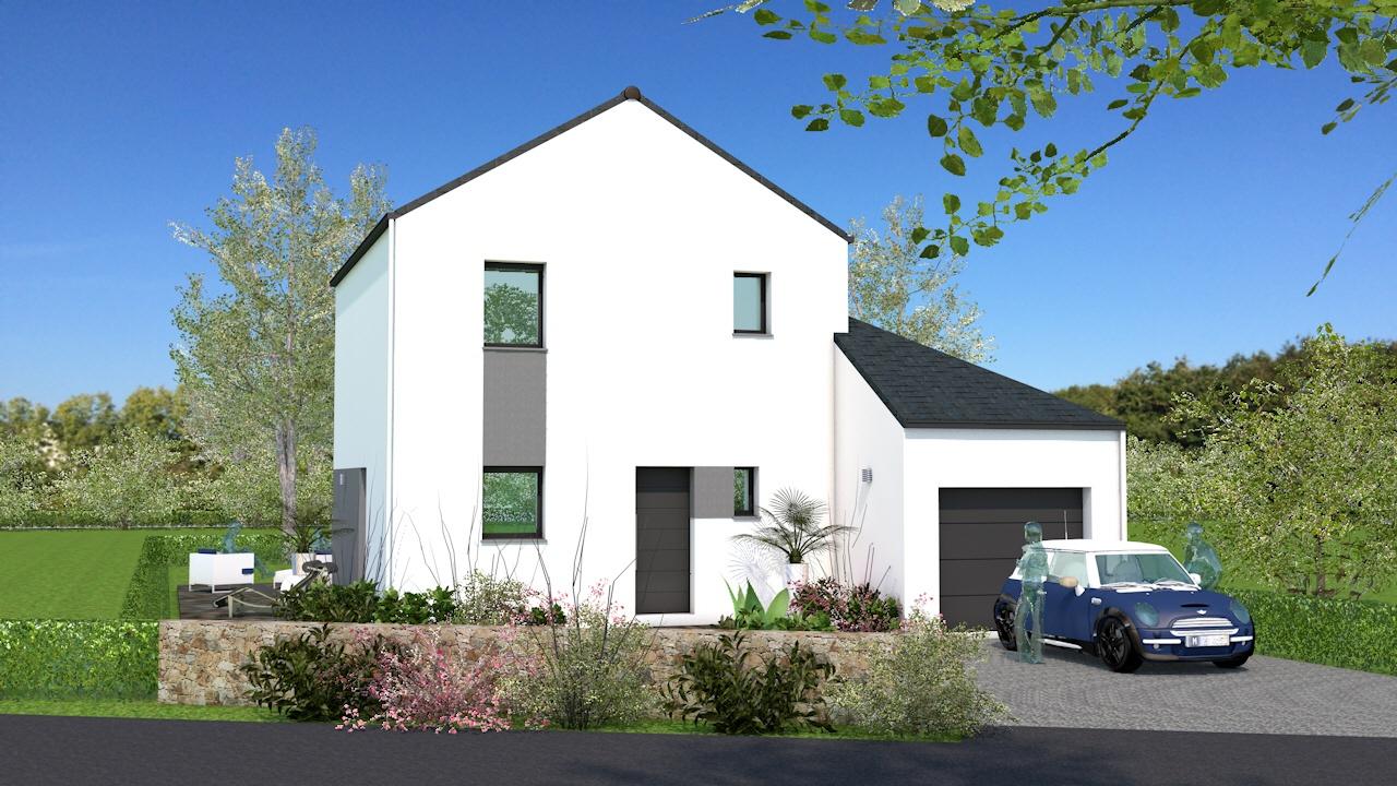 Maisons + Terrains du constructeur MAISON BRIOT NANTES • 110 m² • LA CHAPELLE BASSE MER