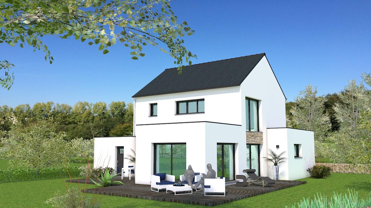 Maisons + Terrains du constructeur MAISON BRIOT NANTES • 120 m² • SAUTRON