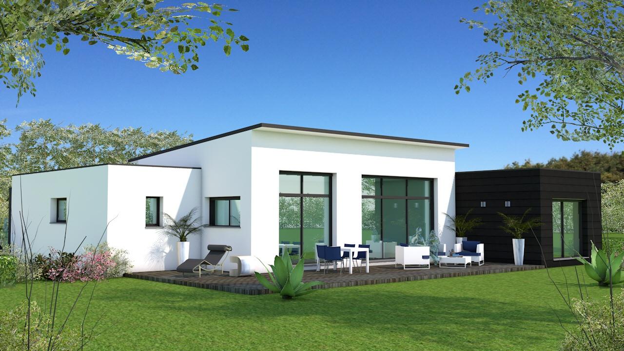 Maisons + Terrains du constructeur MAISON BRIOT NANTES • 130 m² • LA CHAPELLE SUR ERDRE