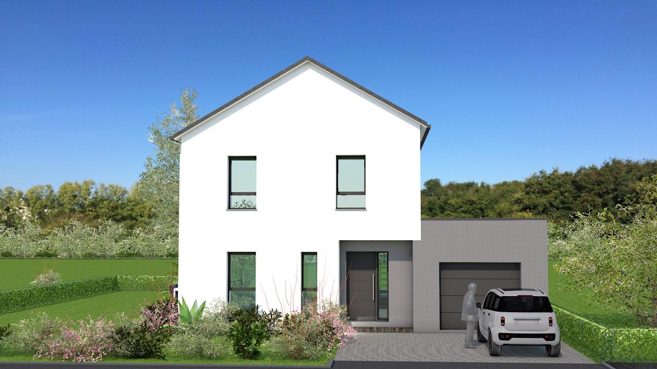 Maisons + Terrains du constructeur MAISON BRIOT NANTES • 110 m² • LA CHAPELLE SUR ERDRE