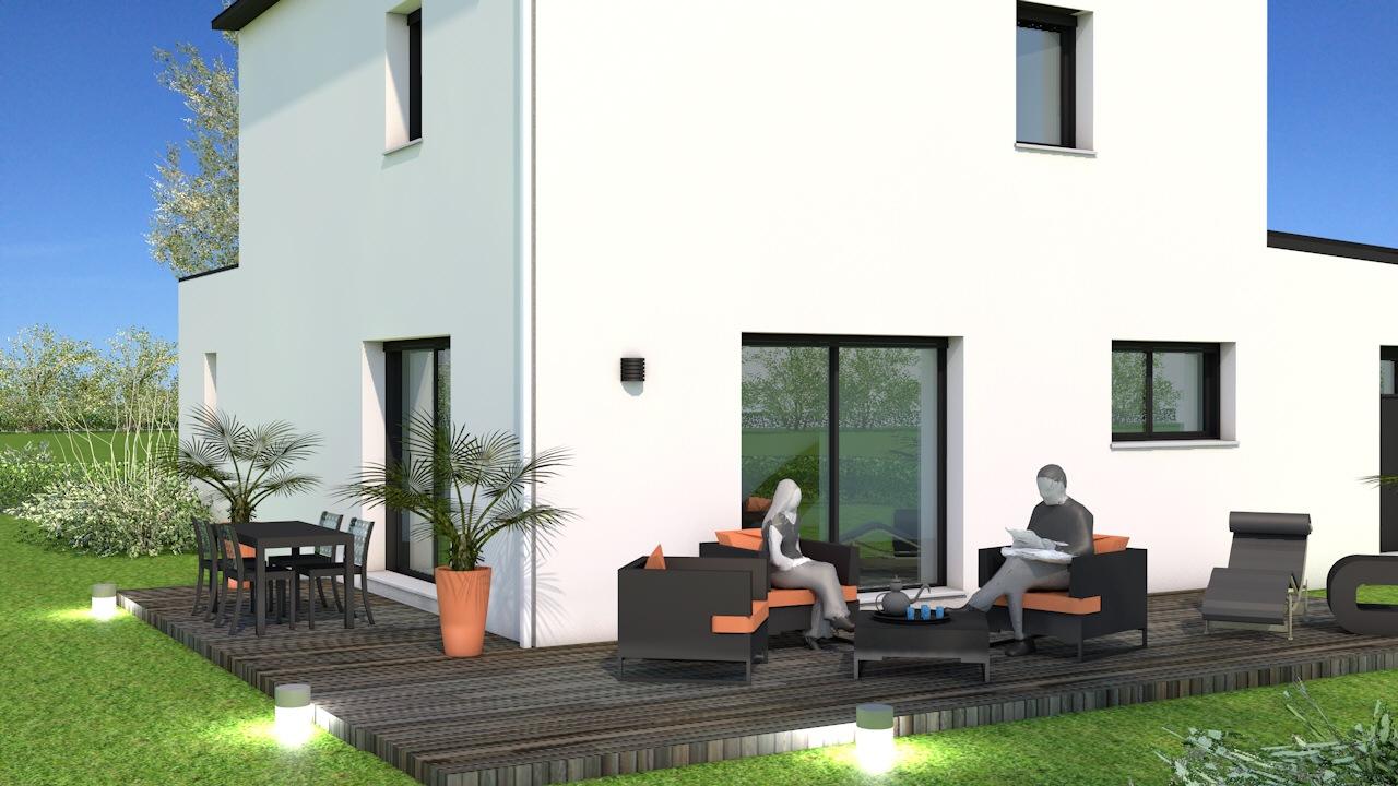 Maisons + Terrains du constructeur MAISON BRIOT NANTES • 120 m² • GRANDCHAMPS DES FONTAINES