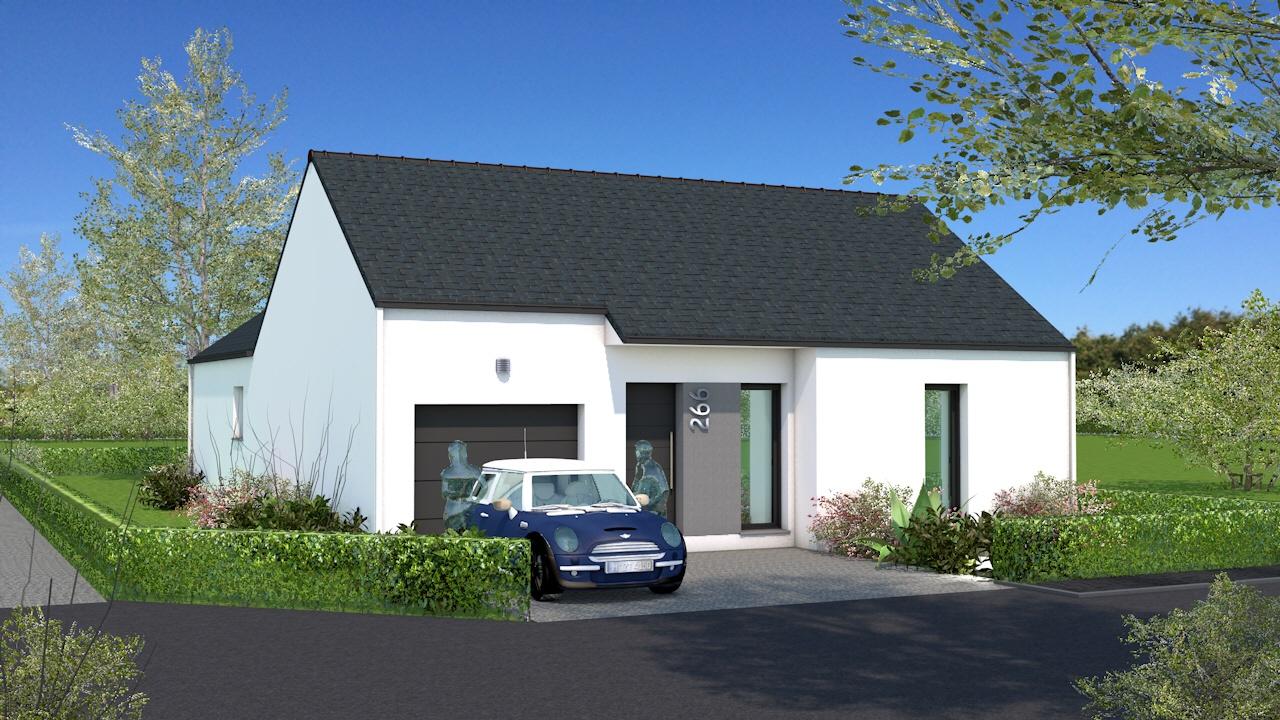 Maisons + Terrains du constructeur MAISON BRIOT NANTES • 100 m² • GRANDCHAMPS DES FONTAINES