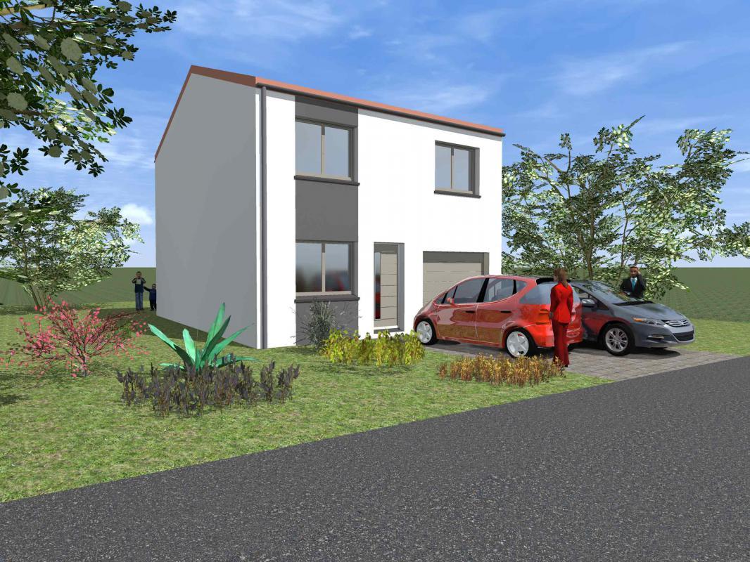 Maisons du constructeur MAISONS CLAUDE RIZZON • BOUXIERES SOUS FROIDMONT