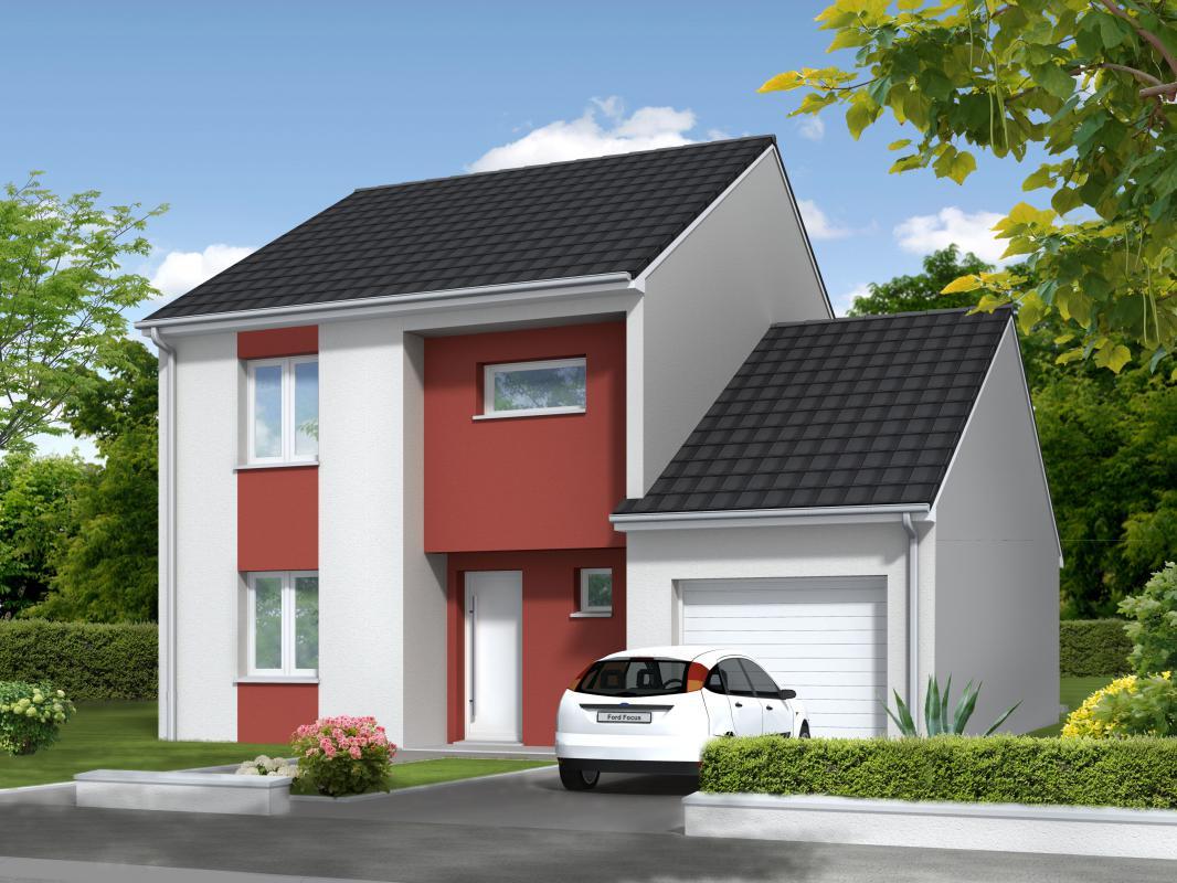 Maisons du constructeur MAISONS CLAUDE RIZZON • COURCELLES CHAUSSY