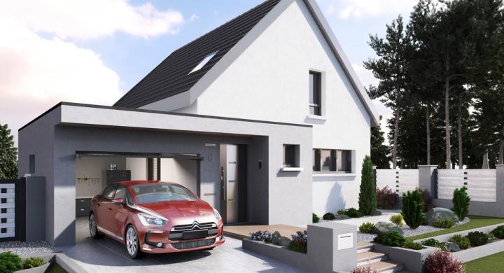 Maisons + Terrains du constructeur MAISONS STEPHANE BERGER SUD ALSACE • 103 m² • KEMBS
