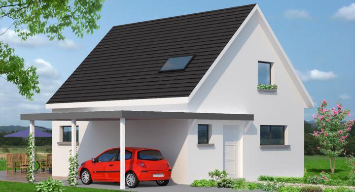 Maisons + Terrains du constructeur MAISONS STEPHANE BERGER • 100 m² • SAINTE CROIX EN PLAINE