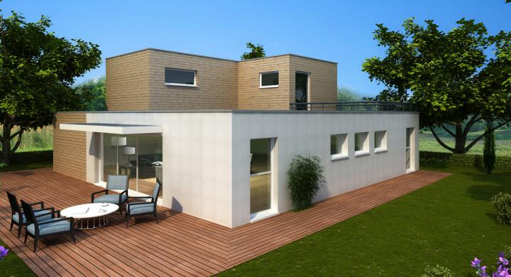 Maisons + Terrains du constructeur MAISONS STEPHANE BERGER • 130 m² • ESCHENTZWILLER