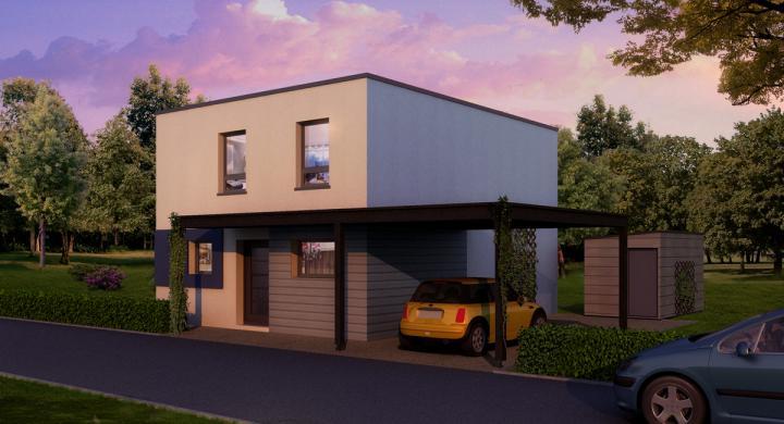 Maisons + Terrains du constructeur MAISONS STEPHANE BERGER •  m² • MULHOUSE