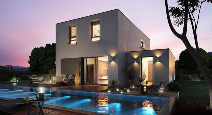 Maisons + Terrains du constructeur MAISONS STEPHANE BERGER •  m² • BURNHAUPT LE BAS