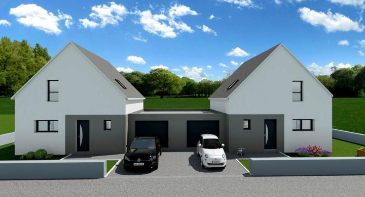 Maisons + Terrains du constructeur MAISONS STEPHANE BERGER • 84 m² • KEMBS