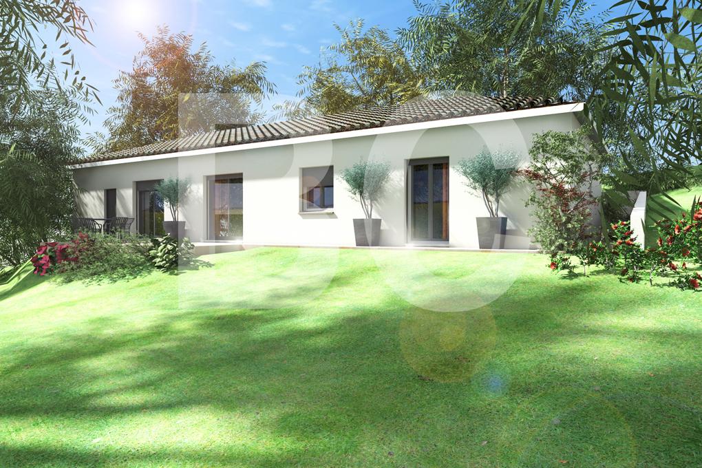 Maisons + Terrains du constructeur BATI CONCEPT 26/07 •  m² • GROSPIERRES