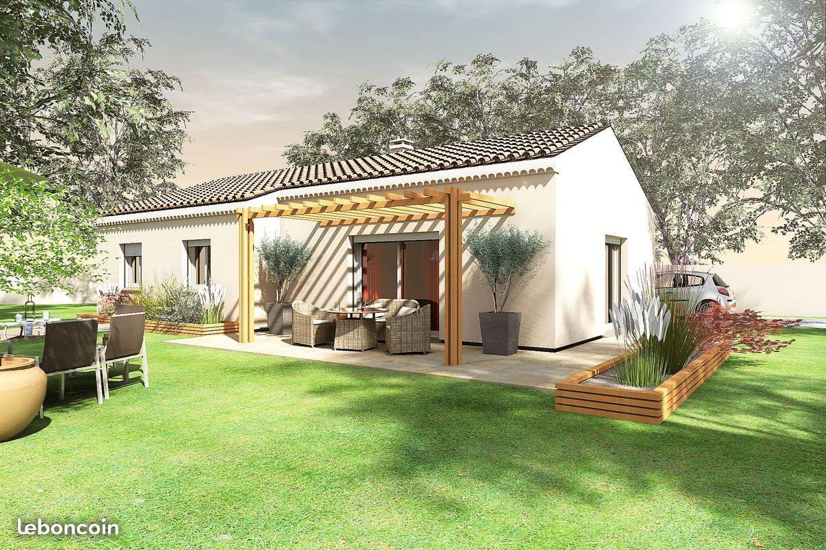 Maisons + Terrains du constructeur BATI CONCEPT 26/07 • 90 m² • LACHAPELLE SOUS AUBENAS